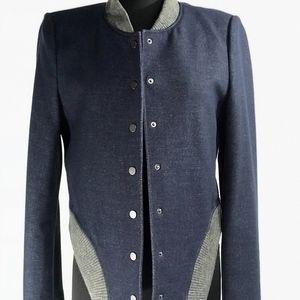 BCBG Fitted Varsity Jacket